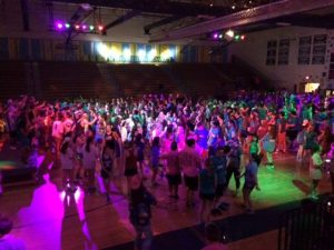 Dance Run High School students in Virginia danced 27 hours to raise money for 12 charities, including the Thoroughbred Retirement Foundation.